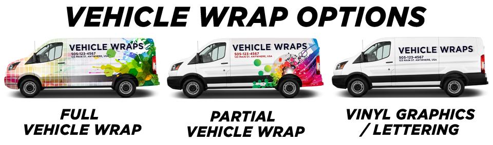 Detroit Vehicle Wraps & Graphics vehicle wrap options